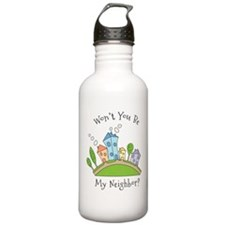 Wont You Be My Neighbor? Water Bottle