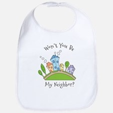 Wont You Be My Neighbor? Bib