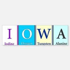 Iowa Bumper Bumper Bumper Sticker