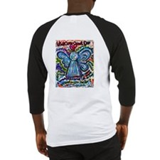 Colorful Cancer Angel Baseball Jersey