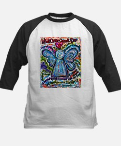 Colorful Cancer Angel Tee