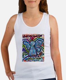 Colorful Cancer Angel Women's Tank Top