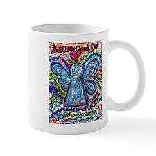 Colorful Cancer Angel Mug