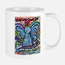Colorful Cancer Angel Mug