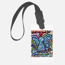 Colorful Cancer Angel Luggage Tag