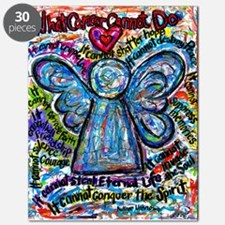 Colorful Cancer Angel Puzzle