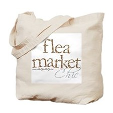 Vintage Cottage Flea Market Tote Bag