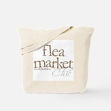 Vintage Cottage Flea Market Tote Bag