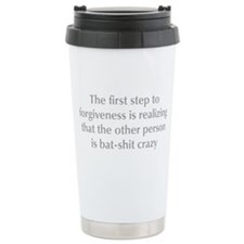first-step-to-forgiveness-opt-gray Travel Mug