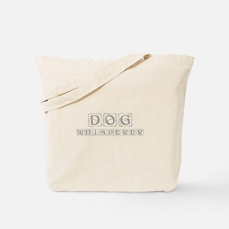 dog-whisperer-kon-gray Tote Bag