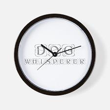 dog-whisperer-kon-gray Wall Clock