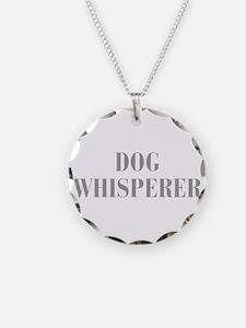 dog-whisperer-bod-gray Necklace