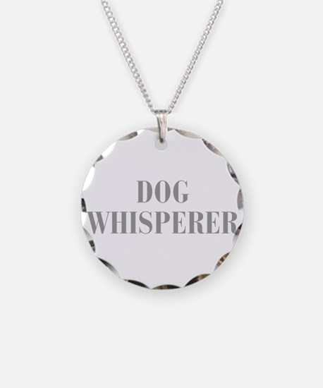 dog-whisperer-bod-gray Necklace