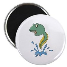 Cute Leaping Tadpole Magnet