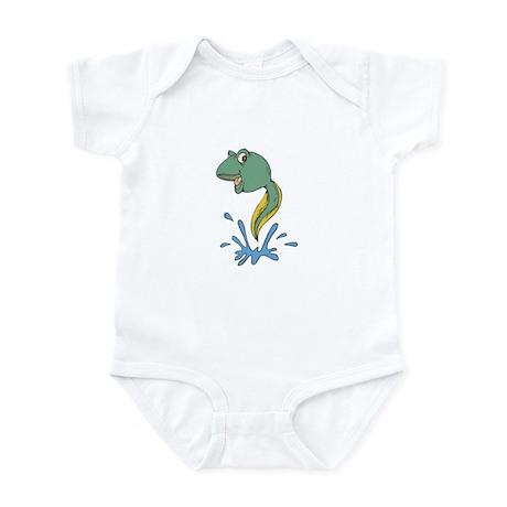 Cute Leaping Tadpole Infant Bodysuit