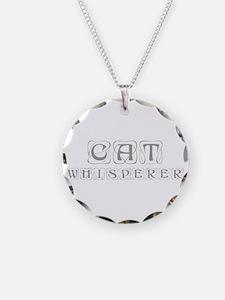 cat-whisperer-kon-gray Necklace