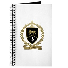 CROTTEAU Family Crest Journal