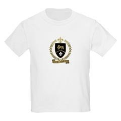 CROTTEAU Family Crest Kids T-Shirt