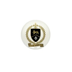 CROTTEAU Family Crest Mini Button (10 pack)