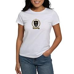 CROTTEAU Family Crest Women's T-Shirt