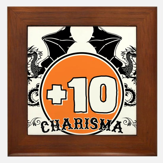 +10 to Charisma Framed Tile