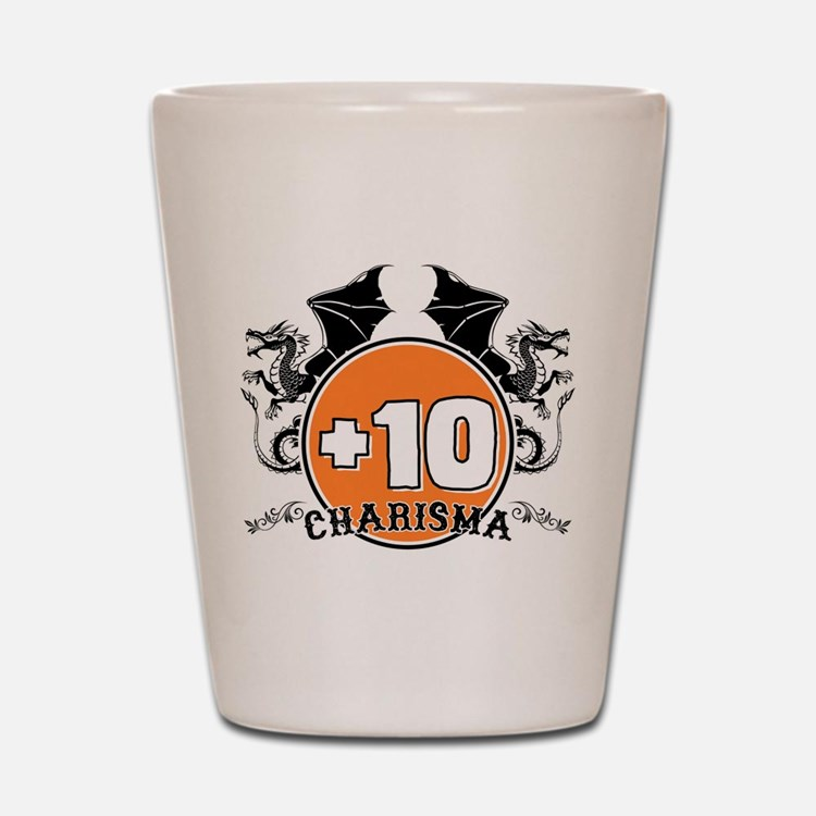 +10 to Charisma Shot Glass