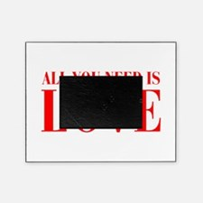 all-you-need-is-love-BOD-RED Picture Frame