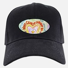 Rainbow Heart Cancer Baseball Hat