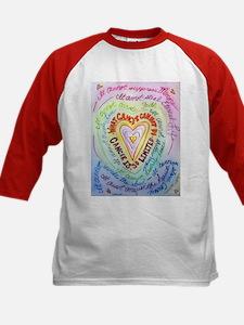 Rainbow Heart Cancer Tee