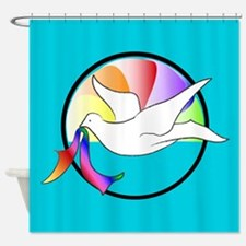 Dove of Love Shower Curtain