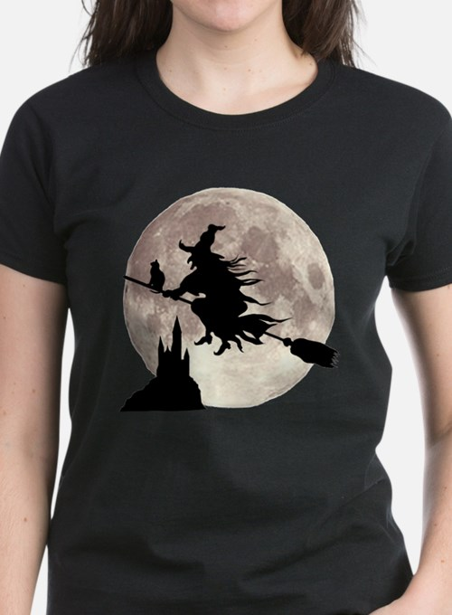 Flying Witch Moon Tee