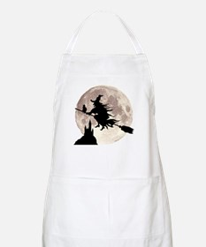 Flying Witch Moon Apron