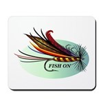 Fish On Mousepad