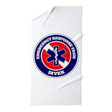 ERT Diver 1 Beach Towel