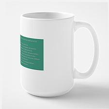 Inside a Therapist's Mind Mug design Large Mug