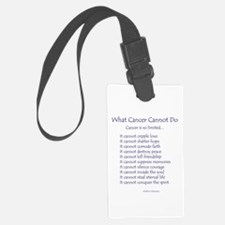 What Cancer Cannot Do Inspirational Cancer Poem Lu
