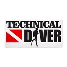 Technical Diver Beach Towel