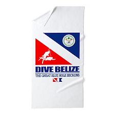 Dive Belize Beach Towel