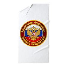 Russia COA Beach Towel