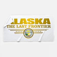 Alaska Pride Beach Towel
