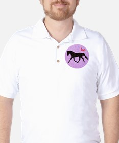 Horse Love and Hearts T-Shirt