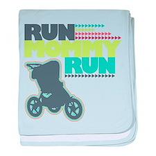 Run Mommy Run - Stroller baby blanket