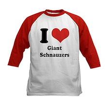 I Heart Giant Schnauzers Tee