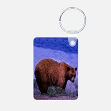 Brown Grizzly Bear Keychains