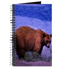 Brown Grizzly Bear Journal