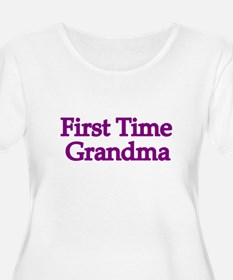 First Time Grandma 2 Plus Size T-Shirt