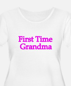 First Time Grandma Plus Size T-Shirt