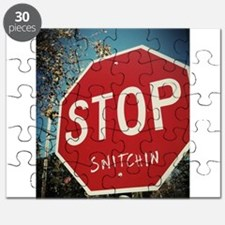 Stop Snitchin Puzzle
