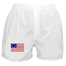 Betsy Ross Flag Boxer Shorts