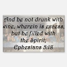 Ephesians 5:18 Decal